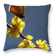 Pollen Pickup Throw Pillow