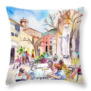 Pollenca 03 Throw Pillow