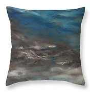 Pollution Clouds Throw Pillow