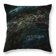 Pollution Galaxy Throw Pillow