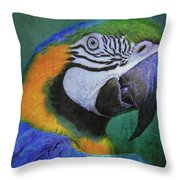 Polly Who Throw Pillow
