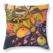 Pollys Plant Throw Pillow