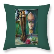 Polo Day Throw Pillow