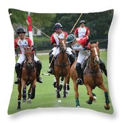 Polo Match 7 Throw Pillow