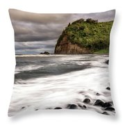 Pololu Whitewash Throw Pillow