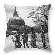 Polonnaruwa  Throw Pillow