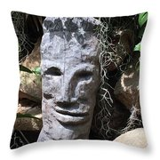 Polyman Throw Pillow
