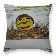 Pomme De Terre-potato-  Throw Pillow