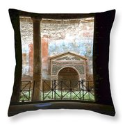 Pompei View 1 Throw Pillow