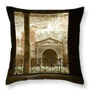 Pompei View 2 Throw Pillow