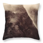 Pompeii, Mt Vesuvius Throw Pillow
