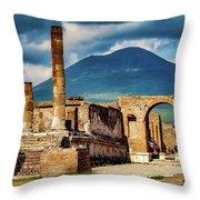 Pompeii Redeux Throw Pillow