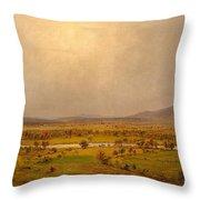 Pompton Plains, New Jersey, 1867 Throw Pillow
