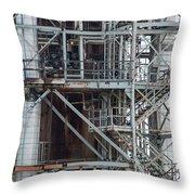 Ponca City Refinery Two Throw Pillow