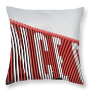 Ponce City Market Throw Pillow