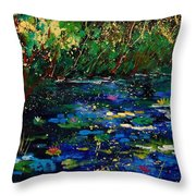 Pond 459030 Throw Pillow