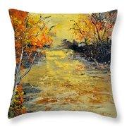 Pond  556180 Throw Pillow
