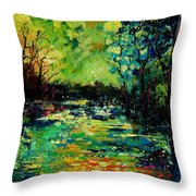 Pond 560120 Throw Pillow