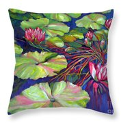 Pond 8 Pond Series Throw Pillow