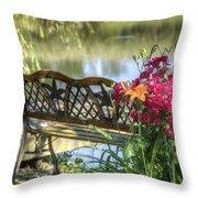 Pond Dreams 11 Throw Pillow