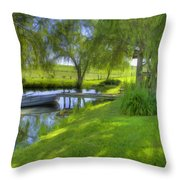 Pond Dreams 2 Throw Pillow
