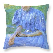 Pond Lilies 1908 Throw Pillow