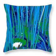 Pond Lily 6 Throw Pillow