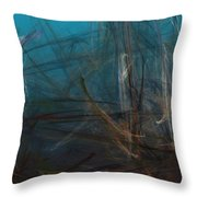 Pond Water Throw Pillow