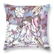 Ponder By The Pond Throw Pillow