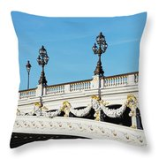 Pont Alexandre IIi - Paris, France Throw Pillow
