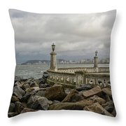 Ponta Da Praia Throw Pillow