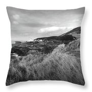 Ponta Das Contendas  Throw Pillow by Kelly Hazel