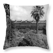 Pontalba Throw Pillow