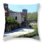 Ponte Cestio Throw Pillow