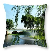 Ponte De Alpiarca Throw Pillow
