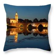 Ponte De Lima Throw Pillow