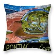 Pontiac 3 Throw Pillow