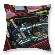 Pontiac Firebird 295 Throw Pillow