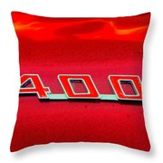 Pontiac Firebird 296 Throw Pillow