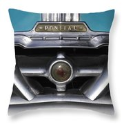 Pontiac Grill Throw Pillow