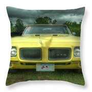 Pontiac Gto 027 Throw Pillow