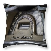 Pontiac Silver Streak Throw Pillow