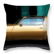 Pontiac Trans Am Throw Pillow