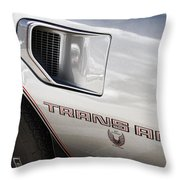 Pontiac Trans Am Limited Edition Throw Pillow