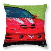 Pontiac Trans Am Throw Pillow
