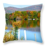 Pontoosuc Foliage 3 Throw Pillow