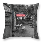 Pontotoc Vineyard Weingarten_8 Throw Pillow