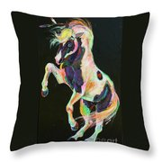 Pony Power II Throw Pillow
