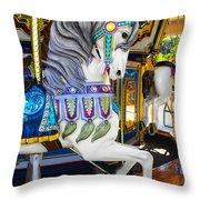 Pony Carousel - Pony Series 5 Throw Pillow