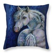 Pony Time Throw Pillow